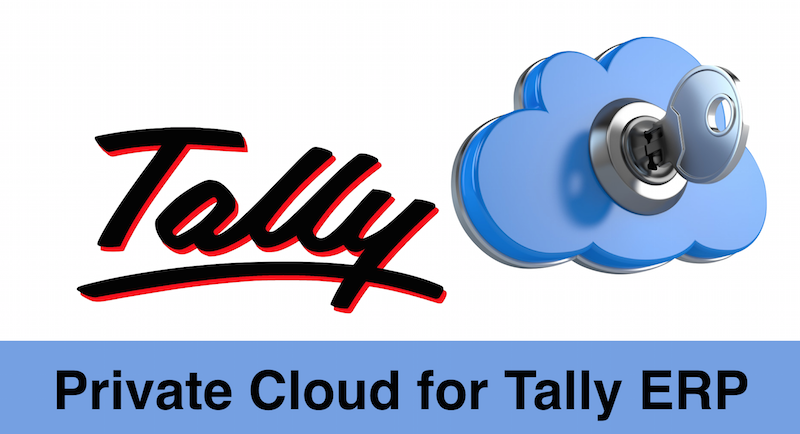 private cloud for Tally