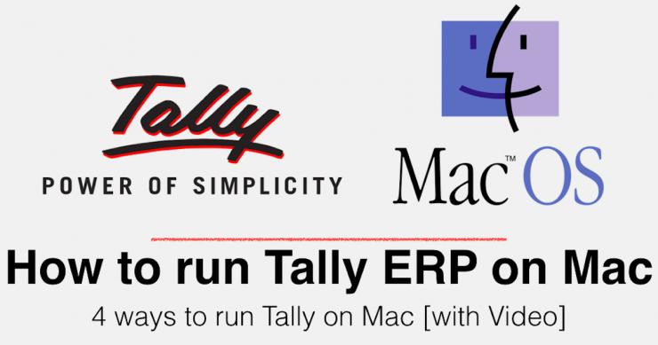 Run Tally ERP 9 on Mac
